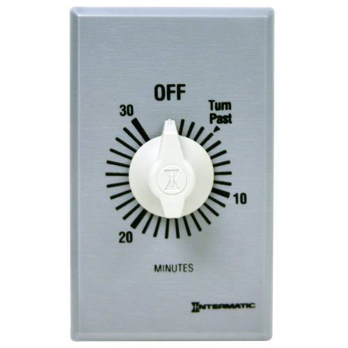 Intermatic FF430M 30 Minute 125 to 277 VAC 60 Hz DPST Countdown Timer