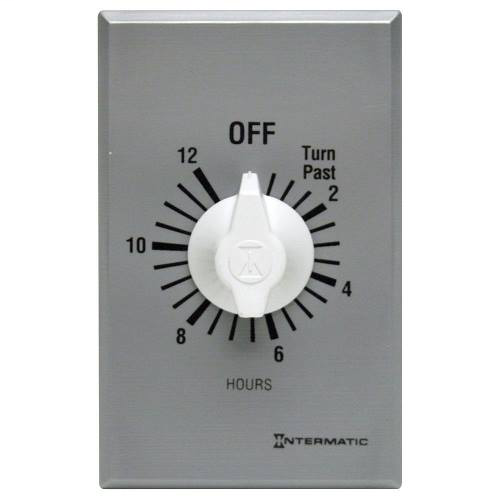 Intermatic FF12HC 12 Hour 125 to 277 VAC 60 Hz SPST Countdown Timer