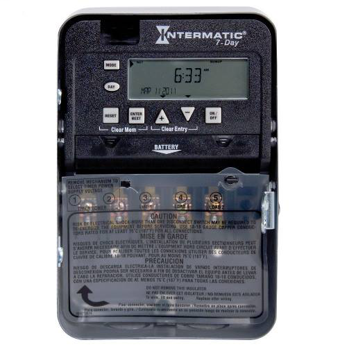 INT ET1715C 20/30A SPDT Q/VOLT 7DAY PROGRAM TIMER SWITCH