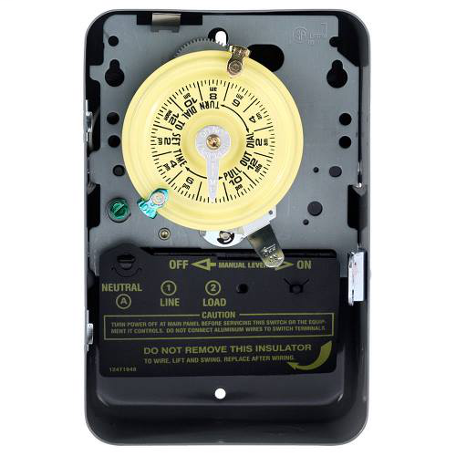 Mayer-INT-MAT T101 SPST 40a 125v Time Switch, Type-1 Steel-1
