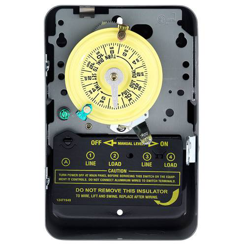 Mayer-INT-MAT T104 DPST 40a 208/277v Time Switch, Type-1 Steel-1