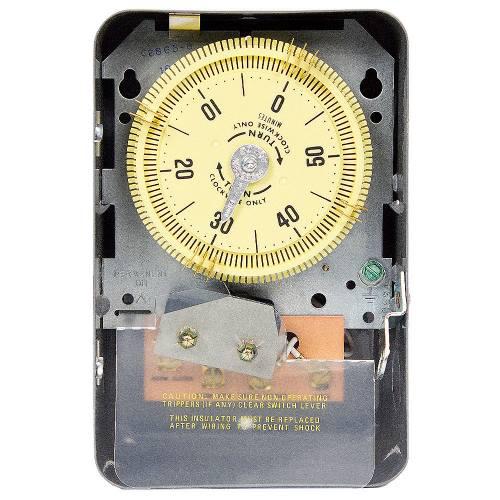 Intermatic C8865 NEMA 1 125 VAC 60 Hz 20 Amp SPDT Electromechanical Time Switch