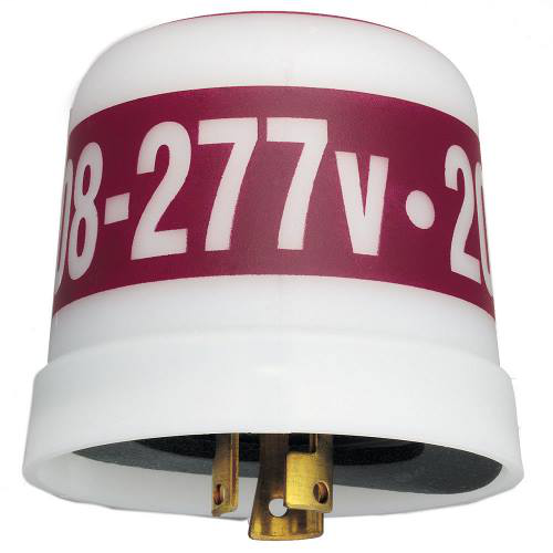 Intermatic LC4523LA 208 to 277 VAC 50/60 Hz 3120 to 4155 W Twist-Lock Thermal Photocontrol with Surge Arrestor