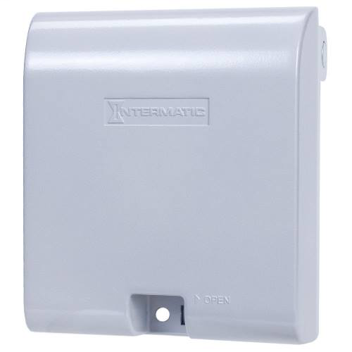 Intermatic,WP1030MXD,2CORD .6x.8 Extra Duty Aluminum Cover