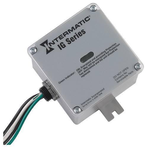 Intermatic IG1240RC3 NEMA 3R Plastic Housing 120/240 VAC 1-Phase Surge Protective Device