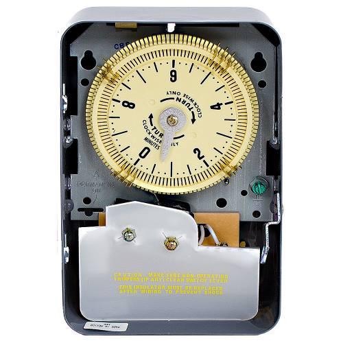 Intermatic C8815 NEMA 1 125 VAC 60 Hz 20 Amp SPDT Electromechanical Time Switch