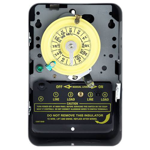 Mechanical Water Heater Time Switch