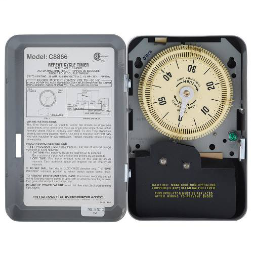 INT-MAT C8866 CYCLE TIMER 220V-60C