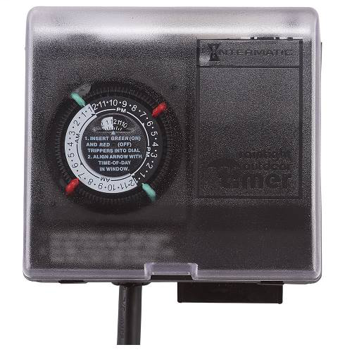 Outdoor Mechanical Plug-In Timer with Built-In Enclosure