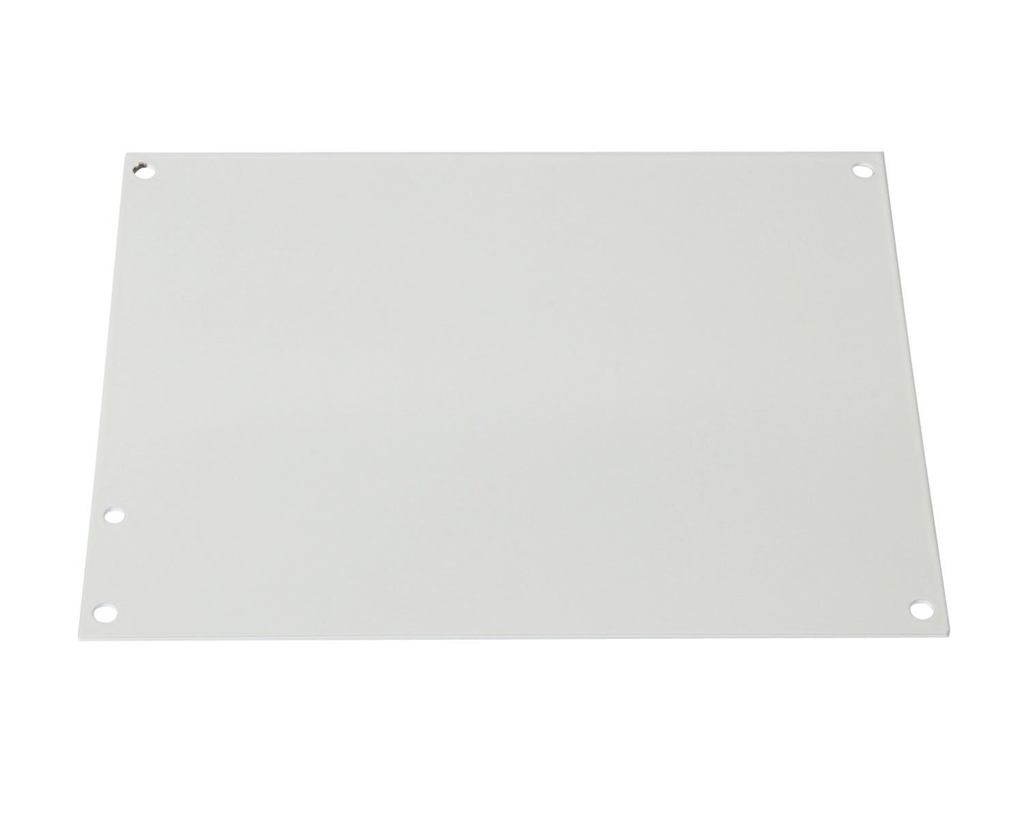 IPEX 077865 12 x 12 Inch White Epoxy Powder Coated Carbon Steel Junction Box Back Panel