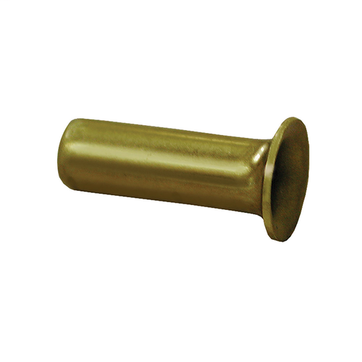 "1/4"" Brass Compression Insert, Lead Free, 100 pcs."