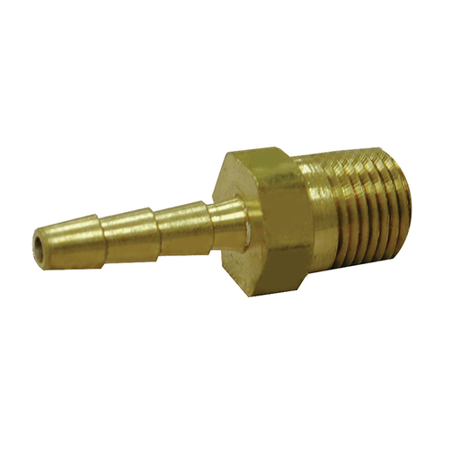 "3/8"" x 3/8"" Brass Hose Barb To Male Pipe"