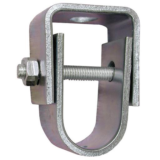 "1-1/2"" Zinc Plated Clevis Hanger for 3/8"" Rod, Light Duty - 400# Steel"