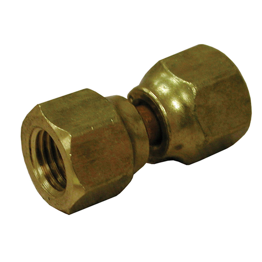"1/4"" Female Brass Flare Swivel Connector"