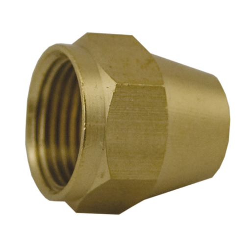 "3/8"" Brass Short Flare Nut"