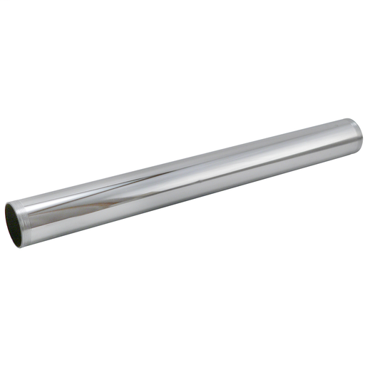 "12 inch 20 GA Chrome Plated Threaded Brass Tube (KEE 1161PC 1-1/4"" X 12"" 20GA)"