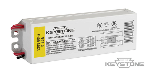 Keystone Electronic Ballst for 2xF32R8 lamps