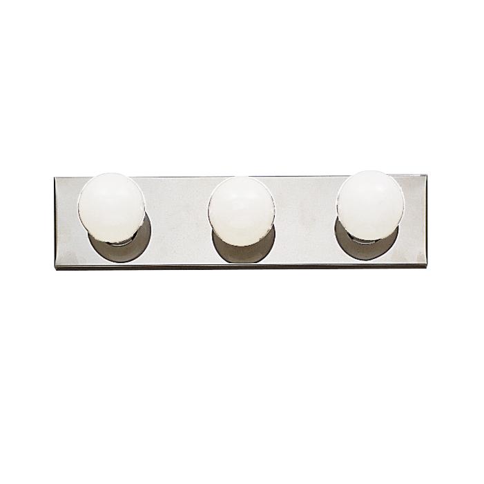 Kichler 623CH 3-Light Bath Wall Mount Lighting Fixture