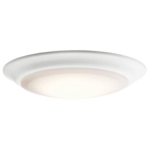 KIC 43846WHLED27 FLUSH MOUNT 1LT LED