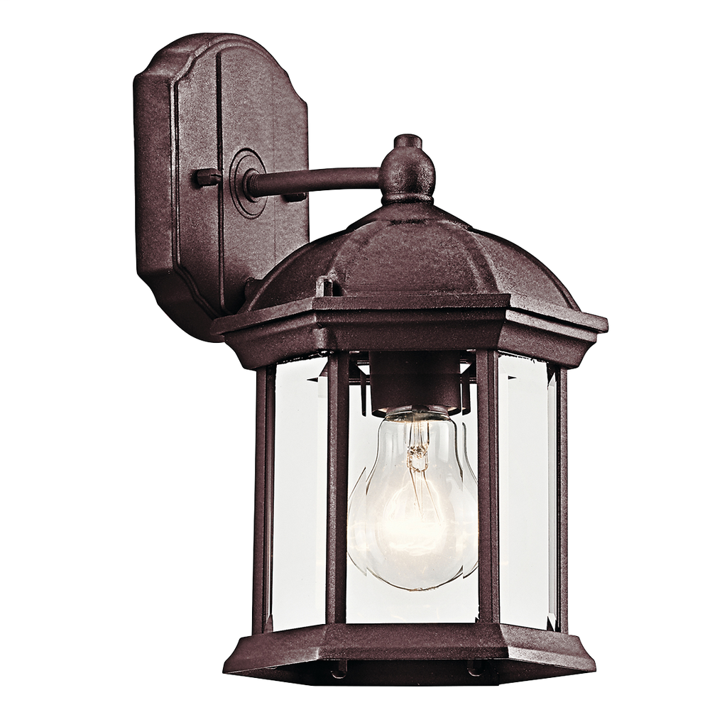 KICH 49183TZ OUTDOOR WALL 1LT INCANDESCE