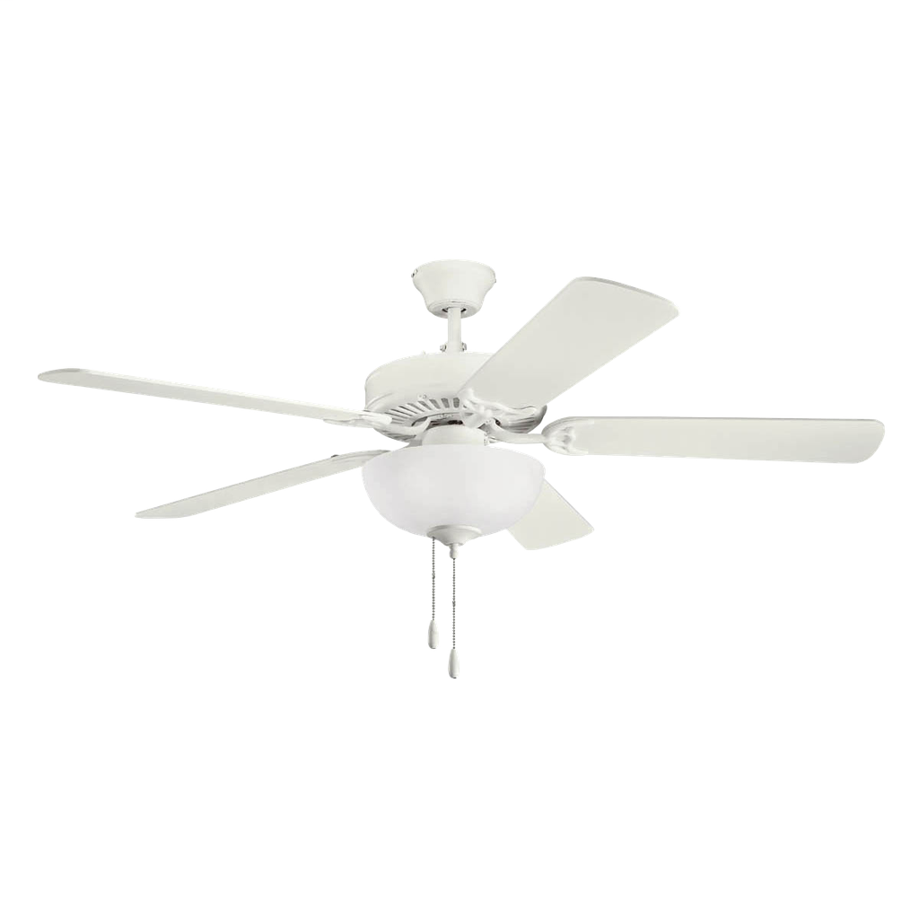 KICHLER LIGHTING 52 Inch Kichler Basics Select Ceiling Fan SNW