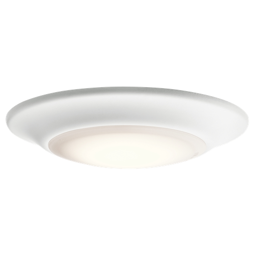 KIC 43845WHLED27 ( DISCONTINUED ) FLUSH MOUNT 1LT LED
