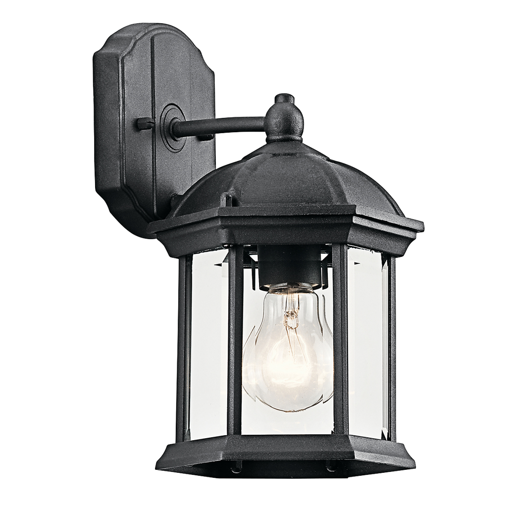 KICH 49183BK OUTDOOR BRACKET 1LT INCANDESCE
