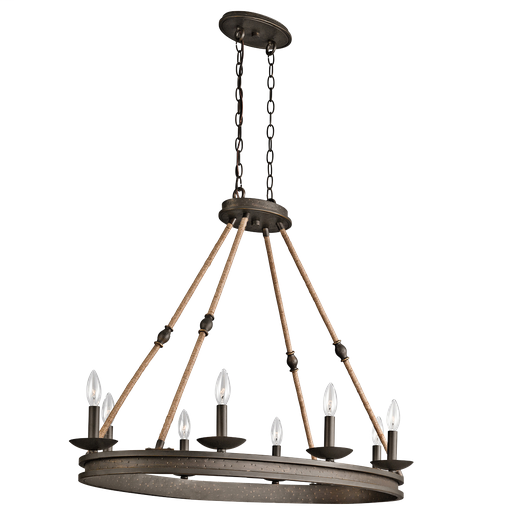 KIC 43422OZ CHANDELIER 8LT