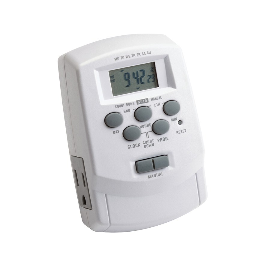 KICH 15556WH DIGITAL TIMER WITH DAYLIGHT SA