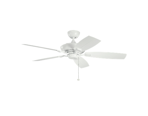 KIC 310192WH 52 INCH CANFIELD PATIO FAN
