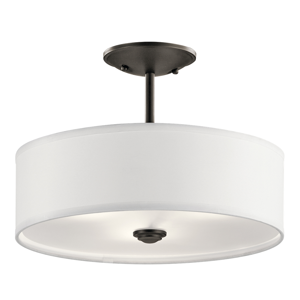 KICH 43675OZ SEMI FLUSH 1LT SHAILENE