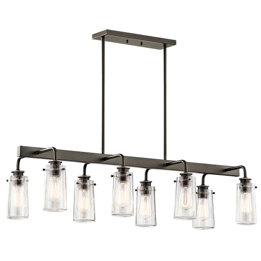 KIC 43457OZ LINEAR CHANDELIER 8LT