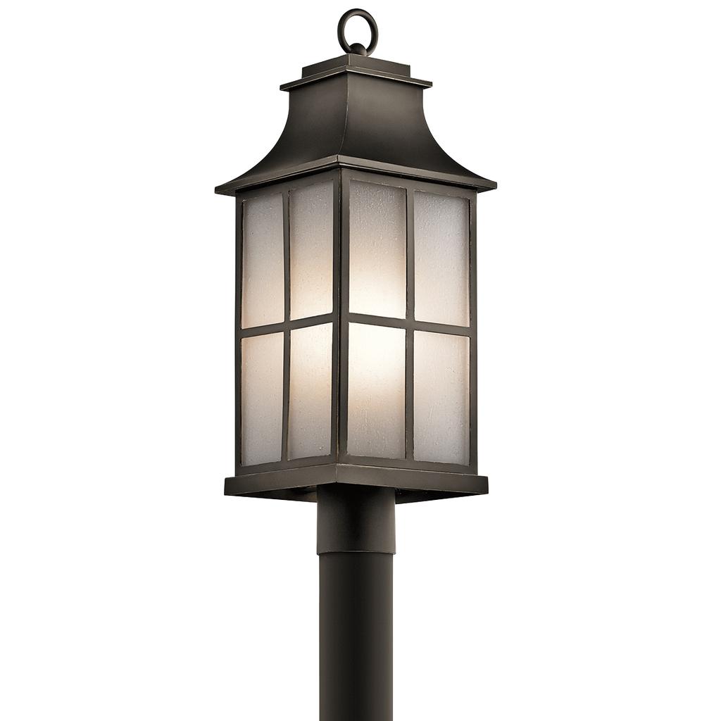 Pallerton Way 1 Light Outdoor Post Lantern - OZ OZ