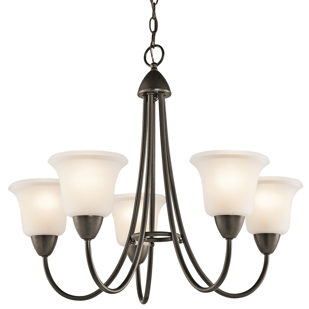 Kichler 42884OZ Olde Bronze 5-Light Nicholson Chandelier