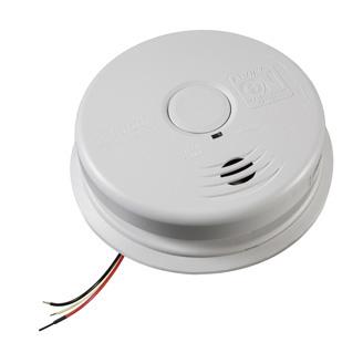 KIDDE SAFETY Worry-Free Hardwired Interconnect Smoke Alarm Sealed Lithium Battery Backup I12010S
