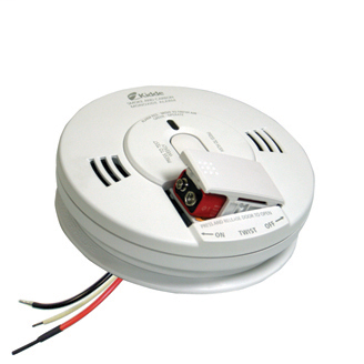 Firex™ AC Hardwired Combination Carbon Monoxide & Photoelectric Smoke Alarm KN-COPE-IC