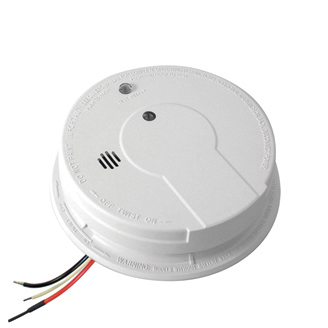 Kidde AC Hardwired Interconnect Photoelectric Smoke Alarm with Hush™ P12040