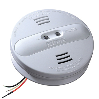Kidde Home Safety 21007915 85 dB 120 Volt 9 Volt Battery AC Dual Ionization/Photoelectric Wire-In Smoke Alarm