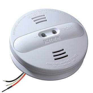 Kidde Dual Sensor AC Hardwired Interconnect Smoke Alarm PI2010