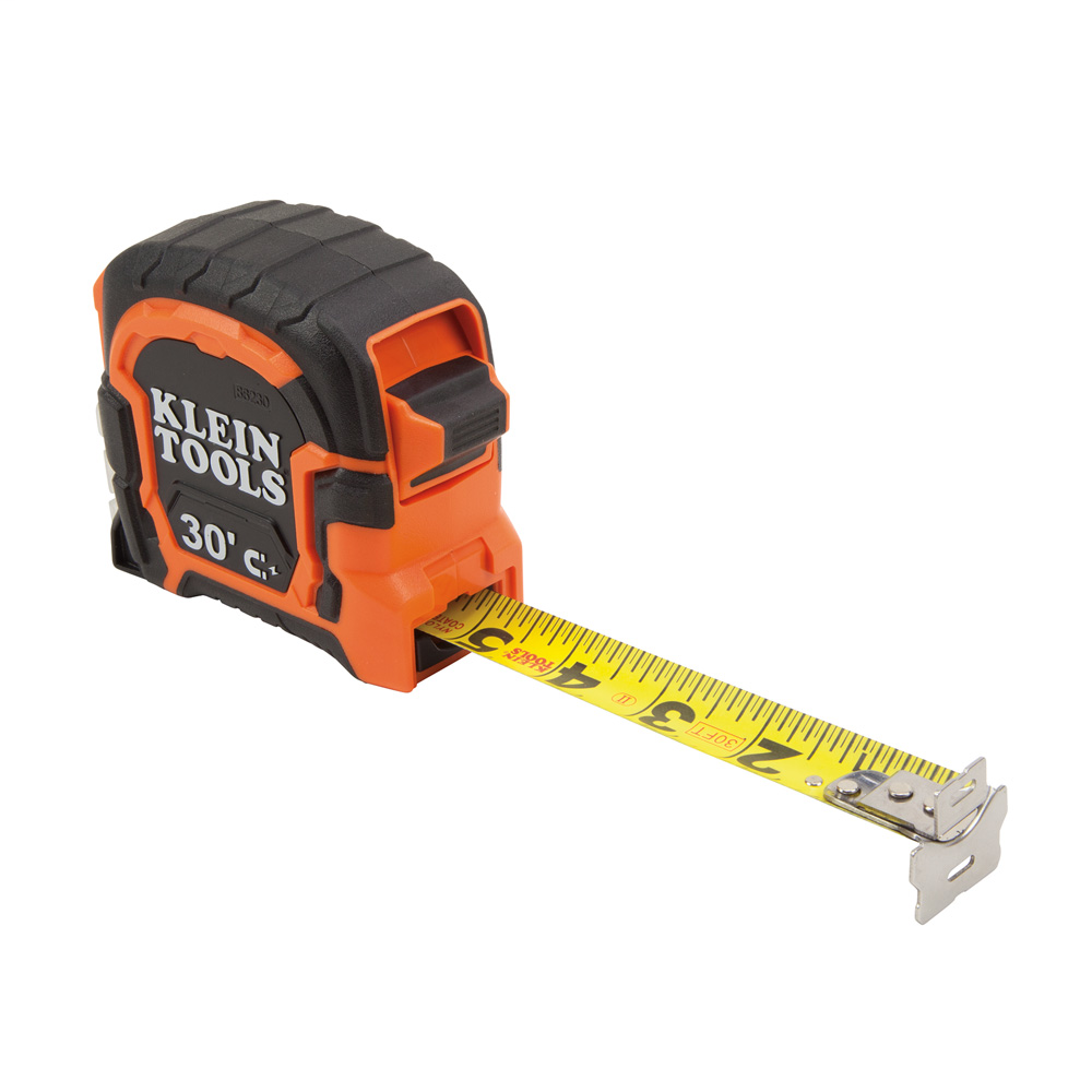 KLEI 86230 TAPE MEASURE, 30FT MAGNETIC DOUBLE HOOK