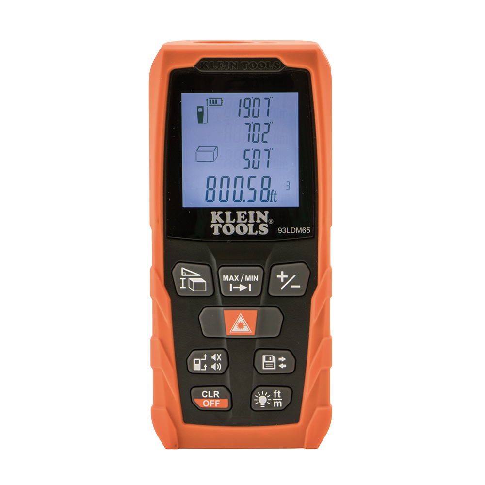KLEI 93LDM65 LASER DISTANCE MEASURER 65 FT / 20 M