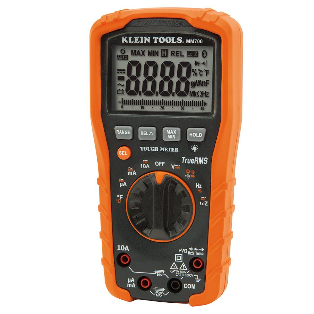 KLEI MM700 DIGITAL MULTIMETER, AUTO-RANGING, 1000V