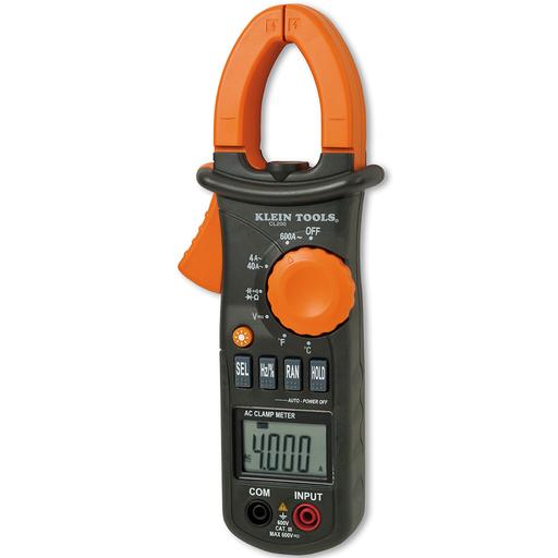 KLE CL200 ( DISC ) 600A AC CLMP MTR W/TEMP