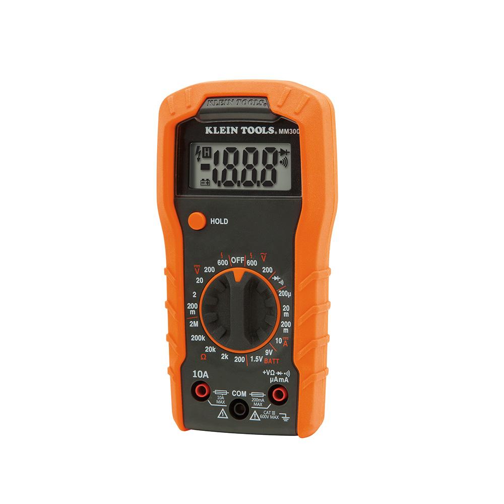 KLEI MM300 DIGITAL MULTIMETER, MANUAL-RANGING, 600V