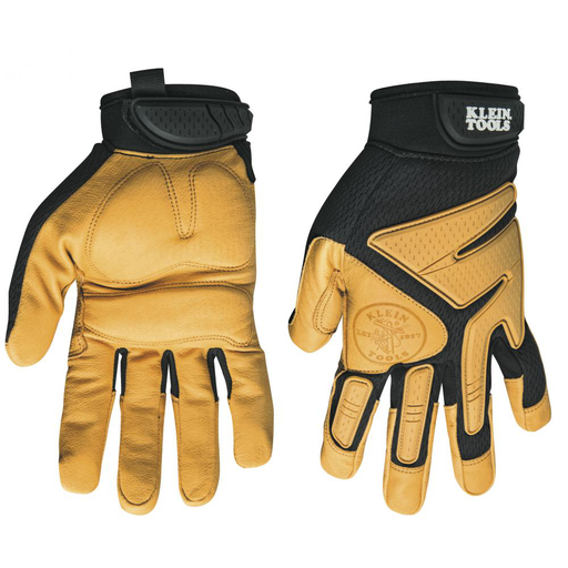 KLE 40222 XL LEATHER WORK GLOVES