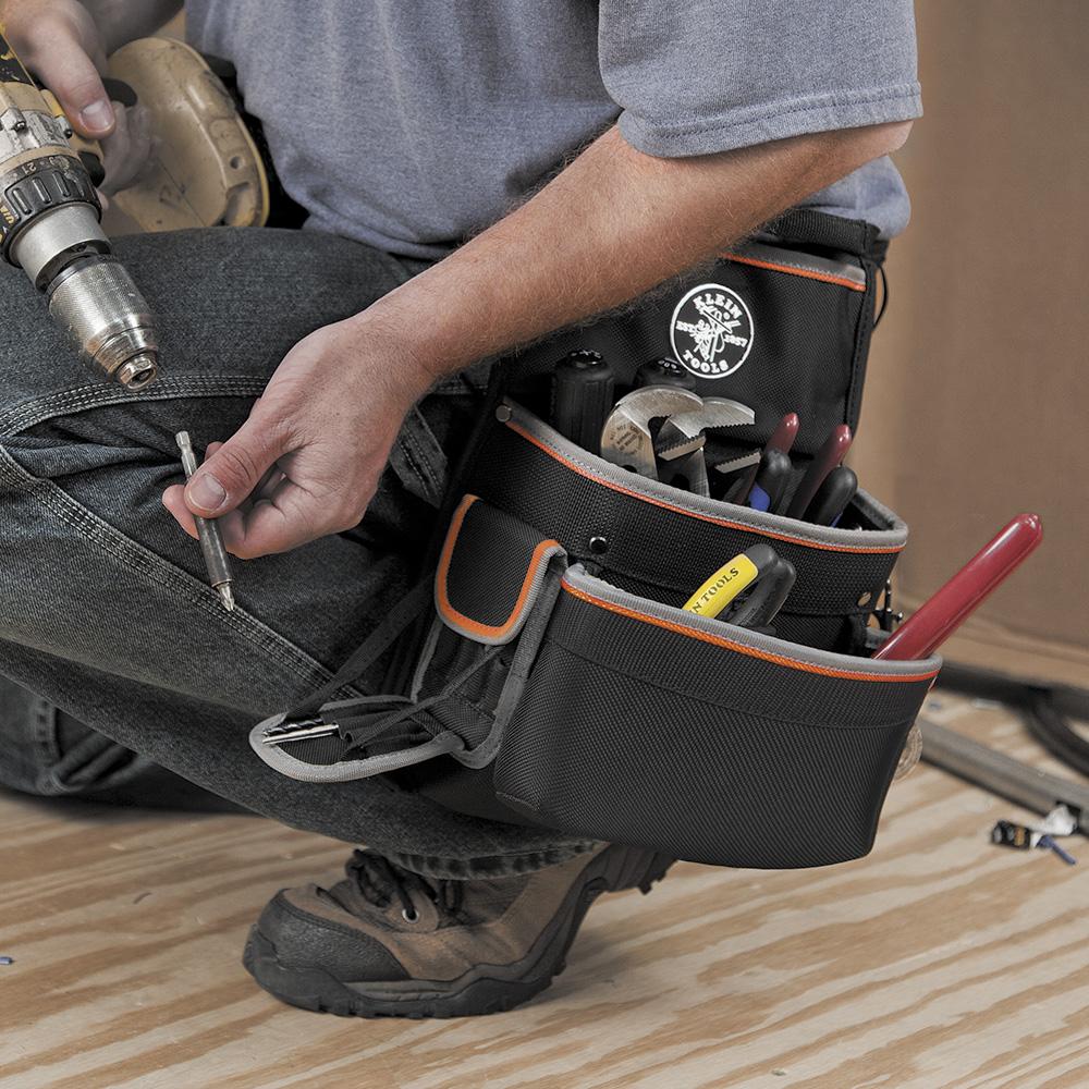 Klein Tools,55428,Tradesman Pro™ Elect's Tool Belt, L