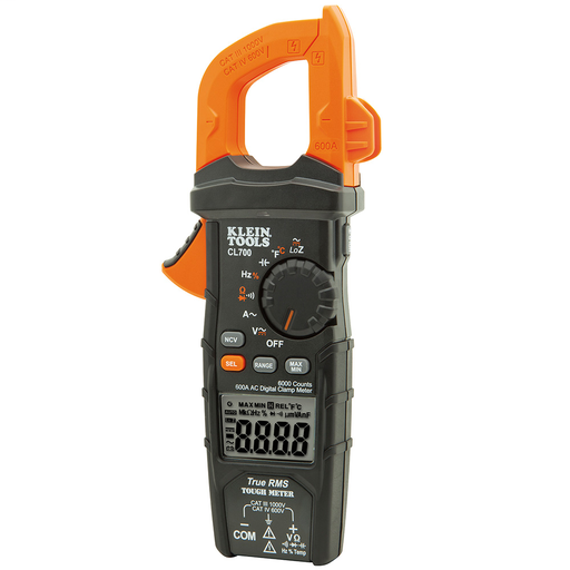 KLE CL700 600A AC CLAMP METER