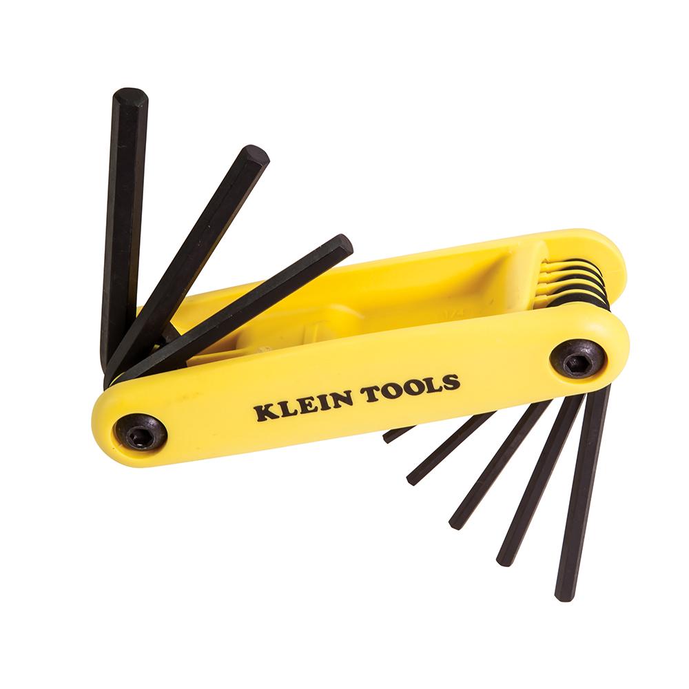Klein Tools,70574,Nine Key Hex Set, 2 Positions