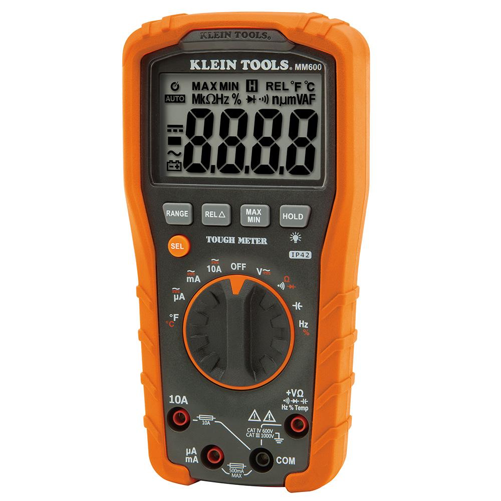 KLEI MM600 DIGITAL MULTIMETER, AUTO-RANGING, 1000V