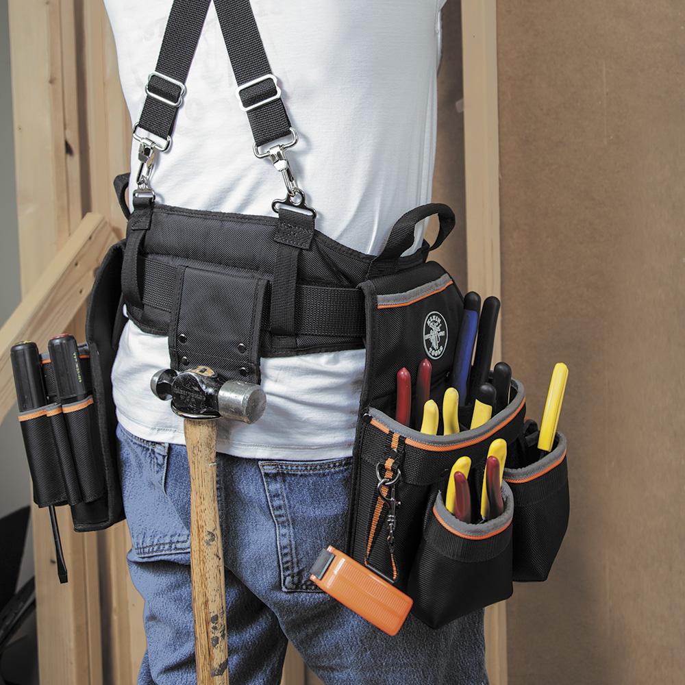 Klein Tools,55427,Tradesman Pro™ Elect's Tool Belt, M